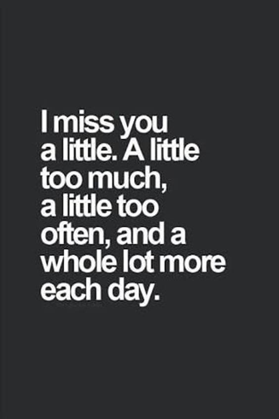 50 Cute Missing Someone Quotes And Sayings