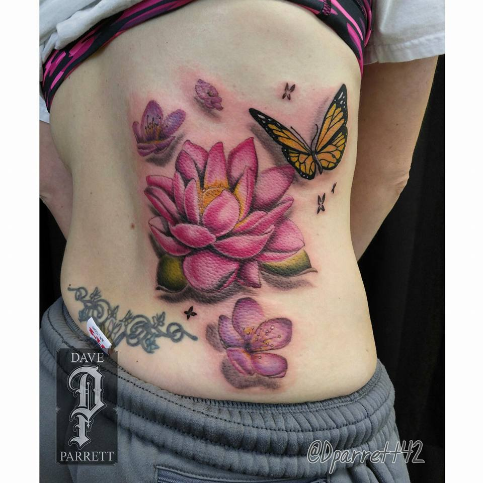 70 Pretty Lotus Flower Tattoo Designs Saudos