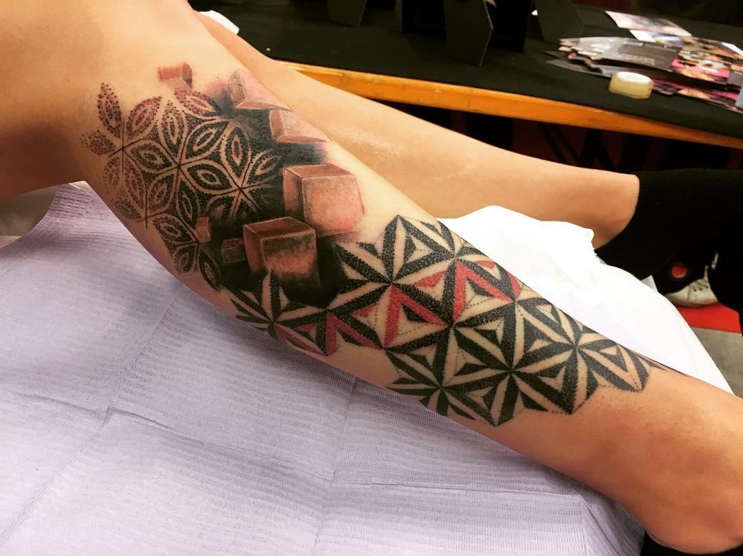 3 Dot Tattoo: 50+ Inspiring 3D Tattoo Designs For Girls
