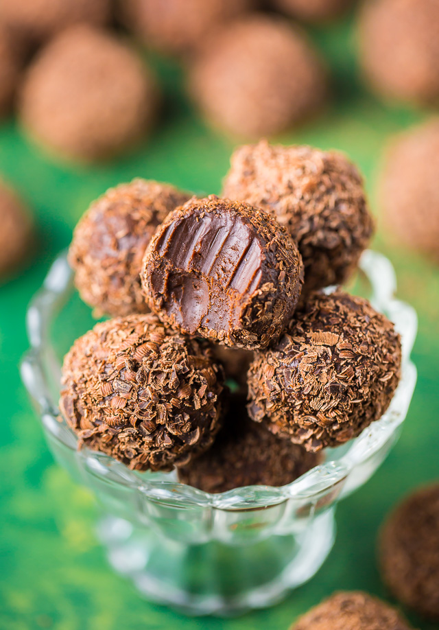 Kahlua Chocolate Truffles From Baker by Nature