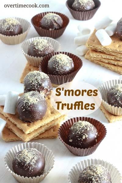 S'mores Truffles.